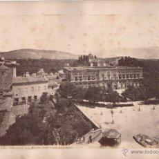Fotografía antigua: GRANADA, 1105. VISTA GENERAL DE LA ALHAMBRA DESDE LA TORRE DEL HOMENAJE, FOTO: LAURENT. MADRID. Lote 50103436