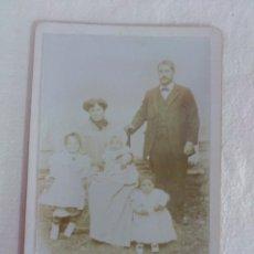 Fotografía antigua: FOTOGRAFIA ANTIGUA, FAMILIA. BAUTISTA...FOTOGRAFO.. Lote 50106668