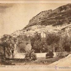 Fotografía antigua: GIBRALTAR, 1860'S. GRAN ALBÚMINA 31X25 CM. SIN DATOS DEL FOTÓGRAFO.. Lote 50231549
