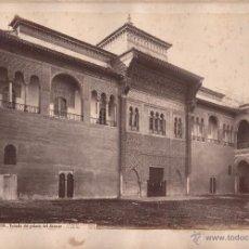 Fotografía antigua: SEVILLA, 1379. PALACIO DEL ALCÁZAR, FOTO: LAURENT, MADRID. 25X34 CM.. Lote 50231633