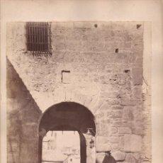 Fotografía antigua: TOLEDO, 597. BAJADA DEL CRISTO DE LA LUZ, FOTO: LAURENT, MADRID. 25X34 CM.. Lote 50231710
