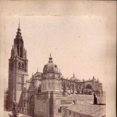 Fotografía antigua: TOLEDO, 24 BIS. LA CATEDRAL, FOTO: LAURENT, MADRID. 25X34 CM.. Lote 50231752