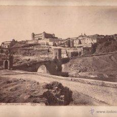 Fotografía antigua: TOLEDO, 1BIS, VISTA PANORÁMICA, FOTO: LAURENT, MADRID. 25X34 CM.. Lote 50231803