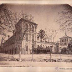 Fotografía antigua: SEVILLA, 1339. VISTA DEL PALACIO DE SAN TELMO, FOTO: LAURENT, MADRID. 25X34 CM.. Lote 50231818