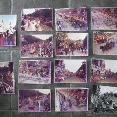 Fotografía antigua: REPORTAJE FOTOGRAFICO FERIA DE JULIO BATALLA DE FLORES VALENCIA 1973 FOTOS FOTOGRAFIA PEREZ APARISI. Lote 50367040