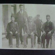 Fotografía antigua - fotografia personal de estacion de ferrocarril F. del XIX, P. del XX - 50452978