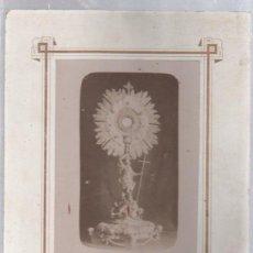Fotografía antigua: ANTIGUA FOTOGRAFIA RELIGIOSA. RECUERDO DE LUGO. 21 X 26CM.. Lote 50618597