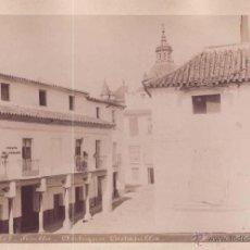 Fotografía antigua - SEVILLA. ALBUMINA 22X17 CM, Nº 607, ANTIGUA COSTANILLA. FOT ALMELA - 50710006