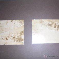Fotografía antigua: CASTELLAR DE N'HUG ANTIGUO ALBUM CON ALBUMINAS CONSTRUCCION FABRICA DE CEMENTO ASLAND CLOT DEL MORO. Lote 50802244