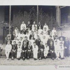 Fotografía antigua: FG-377. FOTOGRAFIA DE GRUPO NIÑOS DIA PRIMERA COMUNION. AÑOS VEINTE.. Lote 51028112
