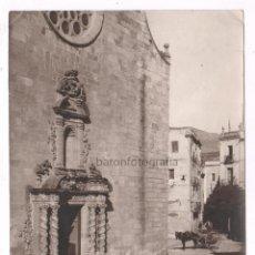 Fotografía antigua: CATALUÑA, IGLESIA POR IDENTIFICAR, 1915'S. 16X20 CM.. Lote 51158930