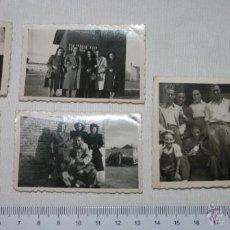 Fotografía antigua - LOTE DE 6 BONITAS FOTOGRAFIAS ANTIGUAS DE LA EPOCA DE LA GUERRA CIVIL, AMIGOS, LUGARES A IDENTIFICAR - 51183924