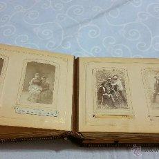 Fotografía antigua: PRECIOSO ÁLBUM DE FOTOS ANTIGUAS DE VARIOS ESTUDIOS FOTOGRAFICOS. Lote 51209704