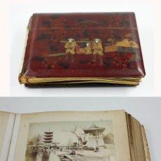 Fotografía antigua: JAPÓN, 1890'S. ÁLBUM CON 50 FOTOS: NAGASAKI, TOKIO, NIKKO, OSAKA, KOBE, ETC. Y MUCHOS RETRATOS, VER.. Lote 51299985