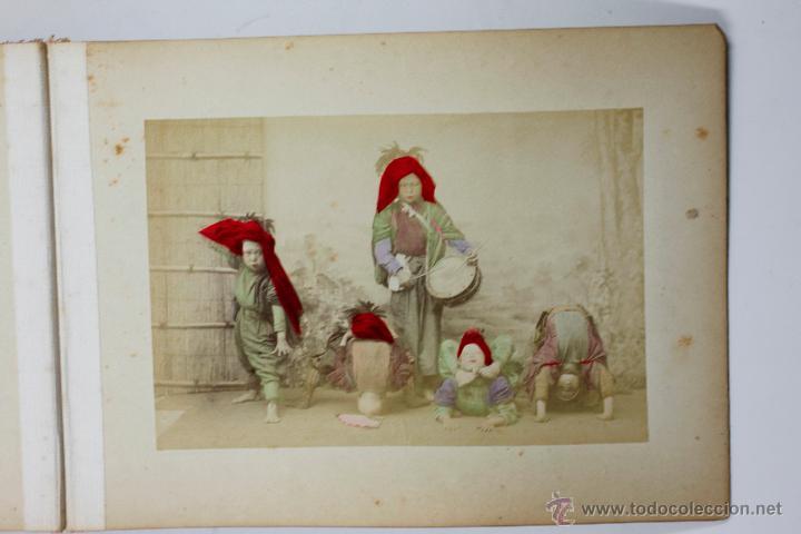 Fotografía antigua: Japón, 1890's. Álbum con 50 fotos: Nagasaki, Tokio, Nikko, Osaka, Kobe, etc. Y muchos retratos, ver. - Foto 5 - 51299985