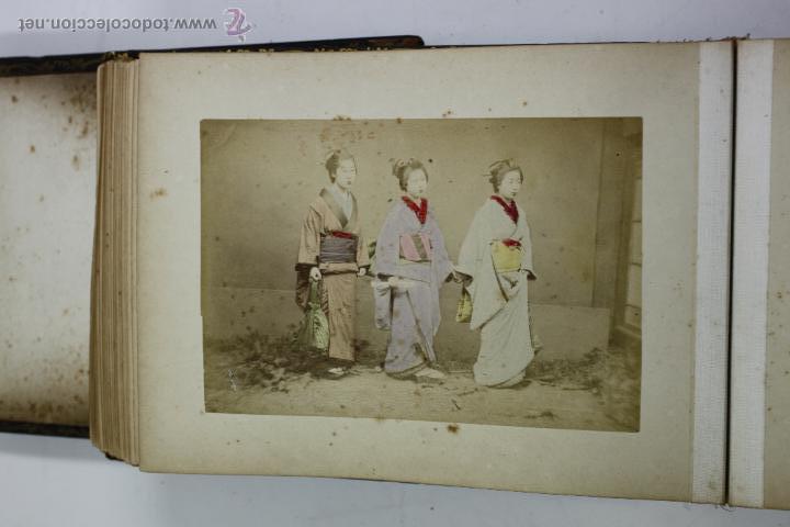 Fotografía antigua: Japón, 1890's. Álbum con 50 fotos: Nagasaki, Tokio, Nikko, Osaka, Kobe, etc. Y muchos retratos, ver. - Foto 6 - 51299985