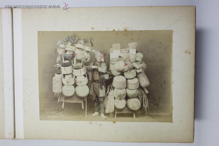 Fotografía antigua: Japón, 1890's. Álbum con 50 fotos: Nagasaki, Tokio, Nikko, Osaka, Kobe, etc. Y muchos retratos, ver. - Foto 7 - 51299985