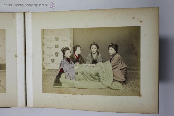 Fotografía antigua: Japón, 1890's. Álbum con 50 fotos: Nagasaki, Tokio, Nikko, Osaka, Kobe, etc. Y muchos retratos, ver. - Foto 8 - 51299985