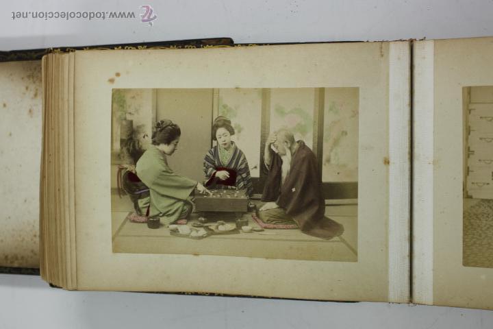 Fotografía antigua: Japón, 1890's. Álbum con 50 fotos: Nagasaki, Tokio, Nikko, Osaka, Kobe, etc. Y muchos retratos, ver. - Foto 9 - 51299985
