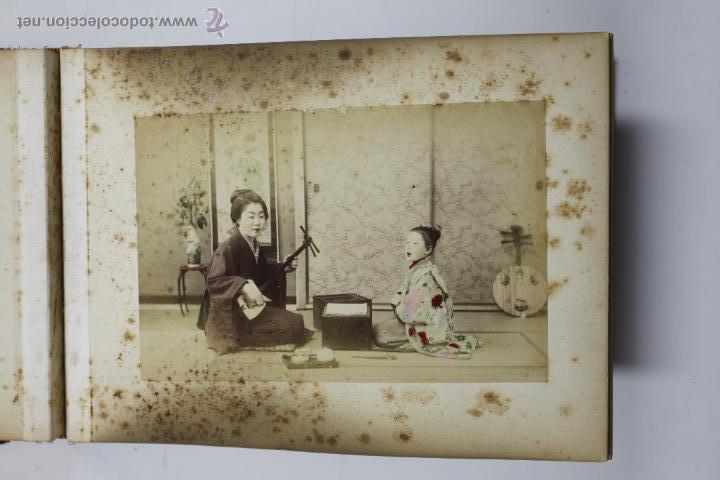 Fotografía antigua: Japón, 1890's. Álbum con 50 fotos: Nagasaki, Tokio, Nikko, Osaka, Kobe, etc. Y muchos retratos, ver. - Foto 10 - 51299985