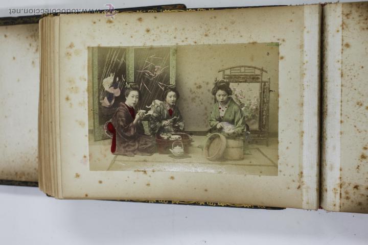 Fotografía antigua: Japón, 1890's. Álbum con 50 fotos: Nagasaki, Tokio, Nikko, Osaka, Kobe, etc. Y muchos retratos, ver. - Foto 11 - 51299985
