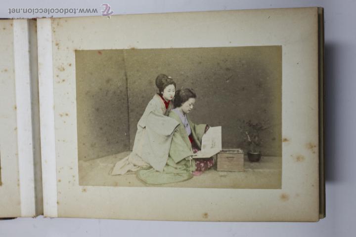 Fotografía antigua: Japón, 1890's. Álbum con 50 fotos: Nagasaki, Tokio, Nikko, Osaka, Kobe, etc. Y muchos retratos, ver. - Foto 12 - 51299985