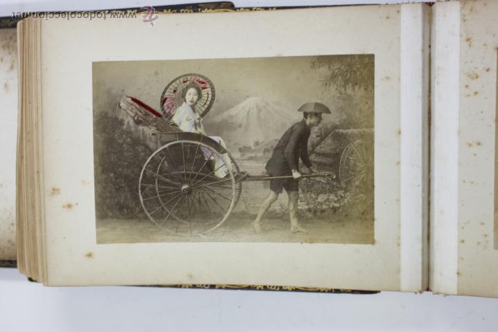 Fotografía antigua: Japón, 1890's. Álbum con 50 fotos: Nagasaki, Tokio, Nikko, Osaka, Kobe, etc. Y muchos retratos, ver. - Foto 13 - 51299985