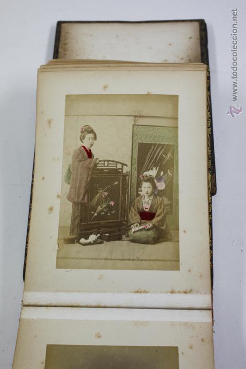Fotografía antigua: Japón, 1890's. Álbum con 50 fotos: Nagasaki, Tokio, Nikko, Osaka, Kobe, etc. Y muchos retratos, ver. - Foto 14 - 51299985