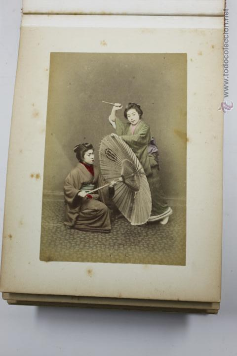 Fotografía antigua: Japón, 1890's. Álbum con 50 fotos: Nagasaki, Tokio, Nikko, Osaka, Kobe, etc. Y muchos retratos, ver. - Foto 15 - 51299985