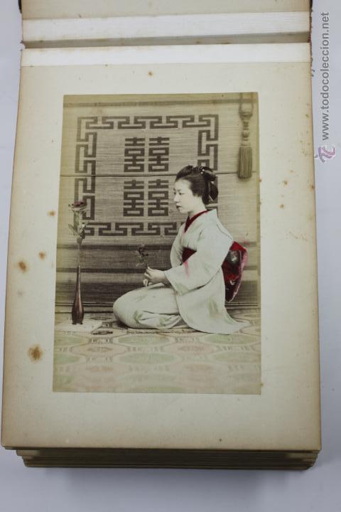 Fotografía antigua: Japón, 1890's. Álbum con 50 fotos: Nagasaki, Tokio, Nikko, Osaka, Kobe, etc. Y muchos retratos, ver. - Foto 16 - 51299985