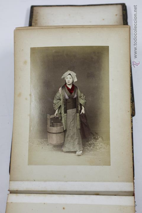 Fotografía antigua: Japón, 1890's. Álbum con 50 fotos: Nagasaki, Tokio, Nikko, Osaka, Kobe, etc. Y muchos retratos, ver. - Foto 17 - 51299985