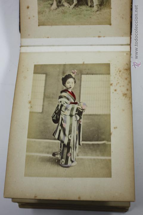 Fotografía antigua: Japón, 1890's. Álbum con 50 fotos: Nagasaki, Tokio, Nikko, Osaka, Kobe, etc. Y muchos retratos, ver. - Foto 18 - 51299985