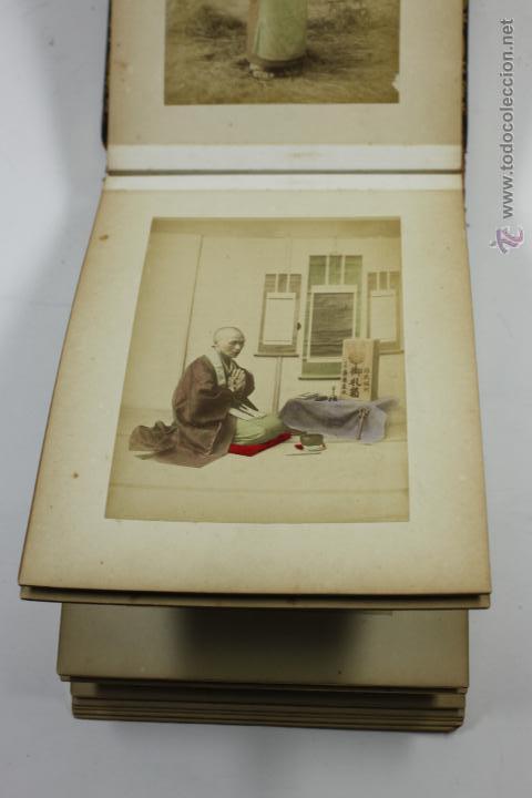 Fotografía antigua: Japón, 1890's. Álbum con 50 fotos: Nagasaki, Tokio, Nikko, Osaka, Kobe, etc. Y muchos retratos, ver. - Foto 20 - 51299985