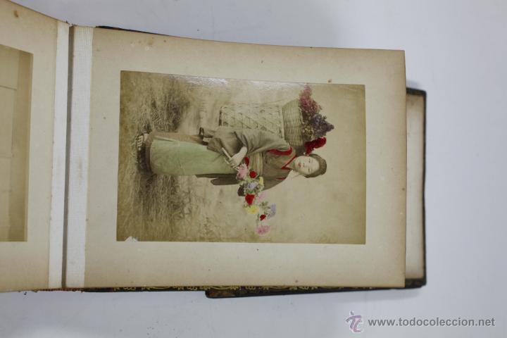 Fotografía antigua: Japón, 1890's. Álbum con 50 fotos: Nagasaki, Tokio, Nikko, Osaka, Kobe, etc. Y muchos retratos, ver. - Foto 21 - 51299985
