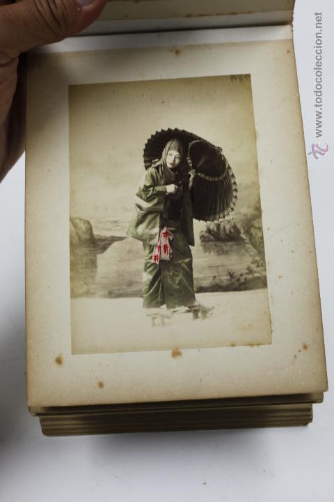 Fotografía antigua: Japón, 1890's. Álbum con 50 fotos: Nagasaki, Tokio, Nikko, Osaka, Kobe, etc. Y muchos retratos, ver. - Foto 22 - 51299985
