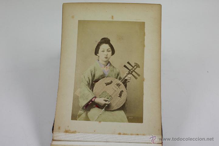 Fotografía antigua: Japón, 1890's. Álbum con 50 fotos: Nagasaki, Tokio, Nikko, Osaka, Kobe, etc. Y muchos retratos, ver. - Foto 23 - 51299985