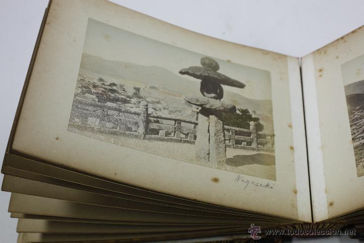 Fotografía antigua: Japón, 1890's. Álbum con 50 fotos: Nagasaki, Tokio, Nikko, Osaka, Kobe, etc. Y muchos retratos, ver. - Foto 25 - 51299985