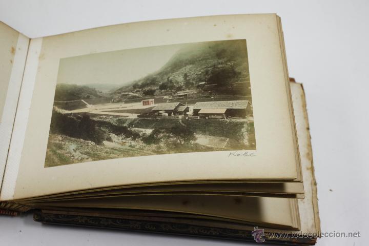 Fotografía antigua: Japón, 1890's. Álbum con 50 fotos: Nagasaki, Tokio, Nikko, Osaka, Kobe, etc. Y muchos retratos, ver. - Foto 26 - 51299985