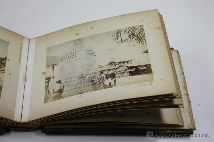 Fotografía antigua: Japón, 1890's. Álbum con 50 fotos: Nagasaki, Tokio, Nikko, Osaka, Kobe, etc. Y muchos retratos, ver. - Foto 28 - 51299985