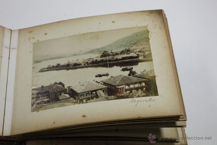 Fotografía antigua: Japón, 1890's. Álbum con 50 fotos: Nagasaki, Tokio, Nikko, Osaka, Kobe, etc. Y muchos retratos, ver. - Foto 32 - 51299985