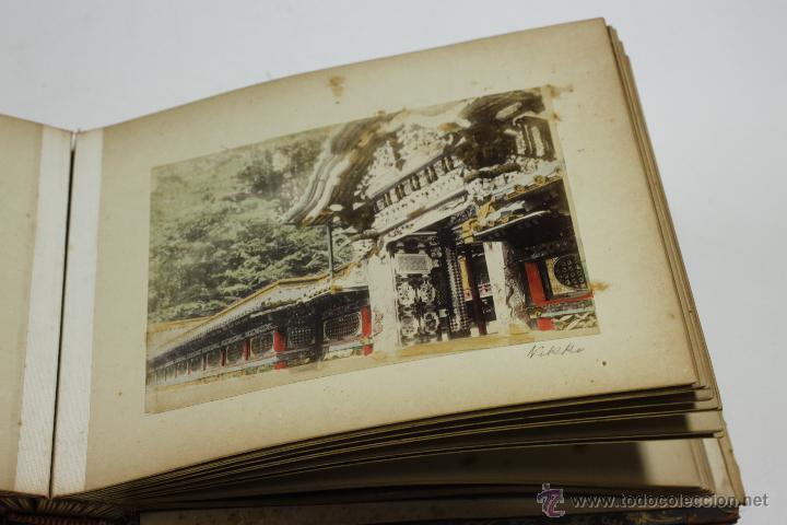 Fotografía antigua: Japón, 1890's. Álbum con 50 fotos: Nagasaki, Tokio, Nikko, Osaka, Kobe, etc. Y muchos retratos, ver. - Foto 34 - 51299985