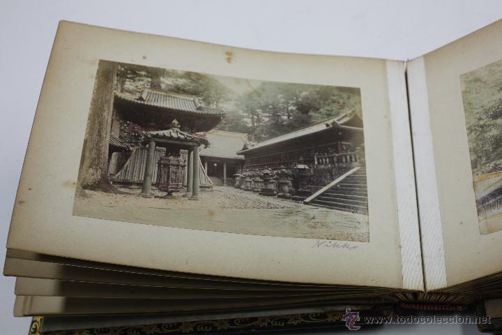Fotografía antigua: Japón, 1890's. Álbum con 50 fotos: Nagasaki, Tokio, Nikko, Osaka, Kobe, etc. Y muchos retratos, ver. - Foto 35 - 51299985