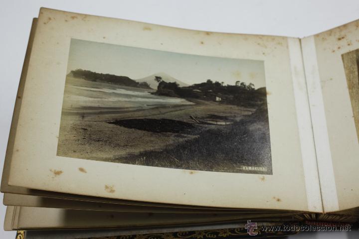 Fotografía antigua: Japón, 1890's. Álbum con 50 fotos: Nagasaki, Tokio, Nikko, Osaka, Kobe, etc. Y muchos retratos, ver. - Foto 37 - 51299985