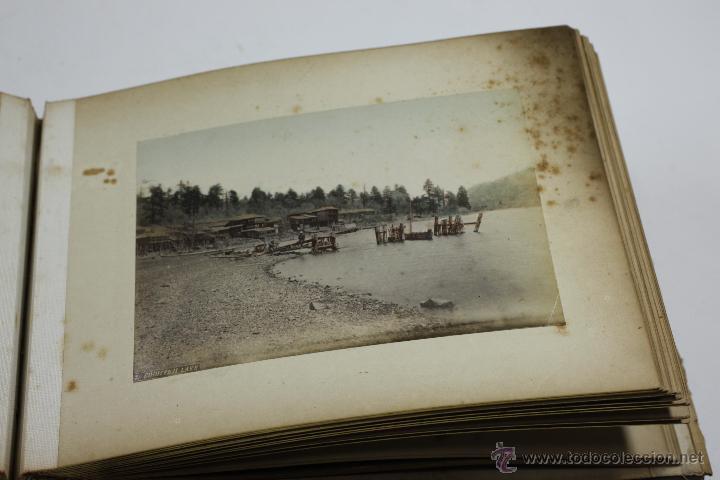 Fotografía antigua: Japón, 1890's. Álbum con 50 fotos: Nagasaki, Tokio, Nikko, Osaka, Kobe, etc. Y muchos retratos, ver. - Foto 38 - 51299985