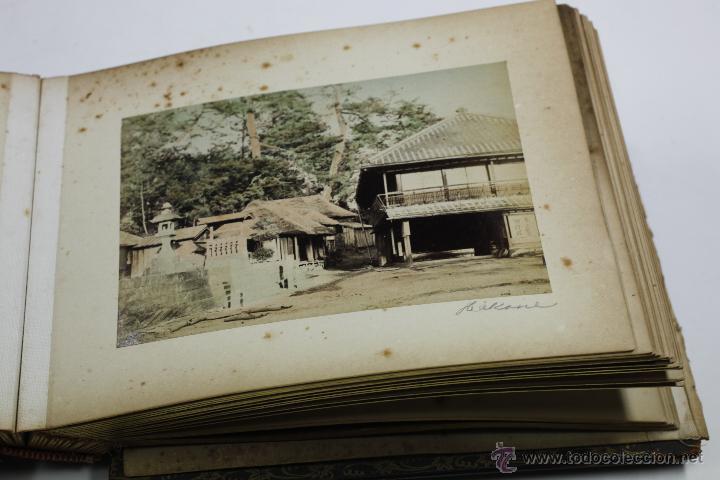 Fotografía antigua: Japón, 1890's. Álbum con 50 fotos: Nagasaki, Tokio, Nikko, Osaka, Kobe, etc. Y muchos retratos, ver. - Foto 40 - 51299985