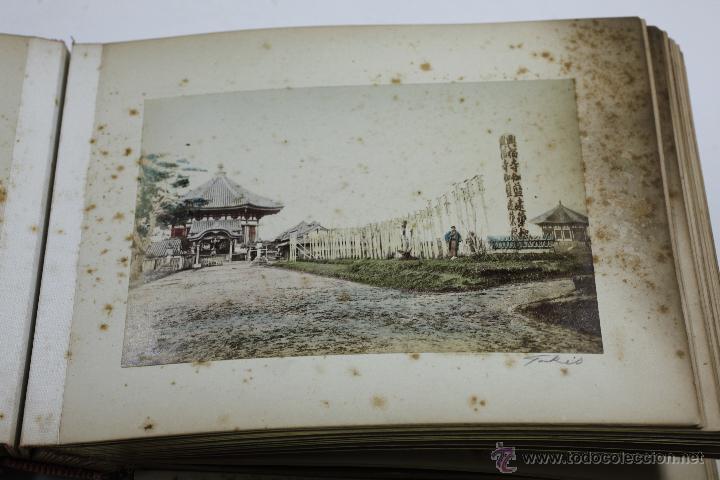 Fotografía antigua: Japón, 1890's. Álbum con 50 fotos: Nagasaki, Tokio, Nikko, Osaka, Kobe, etc. Y muchos retratos, ver. - Foto 42 - 51299985