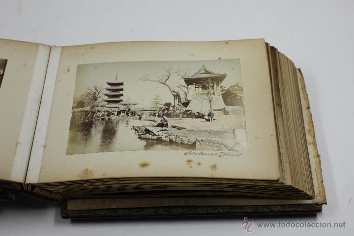Fotografía antigua: Japón, 1890's. Álbum con 50 fotos: Nagasaki, Tokio, Nikko, Osaka, Kobe, etc. Y muchos retratos, ver. - Foto 44 - 51299985