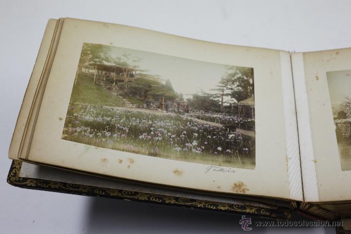 Fotografía antigua: Japón, 1890's. Álbum con 50 fotos: Nagasaki, Tokio, Nikko, Osaka, Kobe, etc. Y muchos retratos, ver. - Foto 45 - 51299985