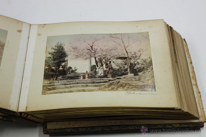 Fotografía antigua: Japón, 1890's. Álbum con 50 fotos: Nagasaki, Tokio, Nikko, Osaka, Kobe, etc. Y muchos retratos, ver. - Foto 48 - 51299985