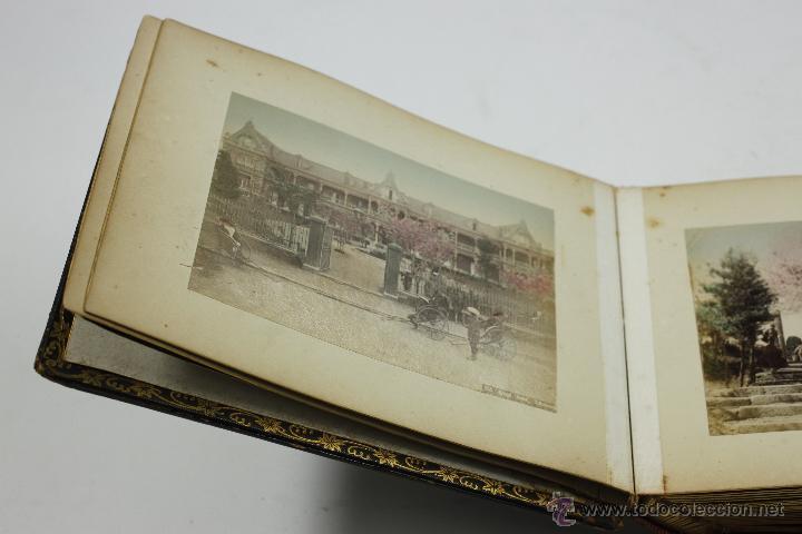 Fotografía antigua: Japón, 1890's. Álbum con 50 fotos: Nagasaki, Tokio, Nikko, Osaka, Kobe, etc. Y muchos retratos, ver. - Foto 49 - 51299985